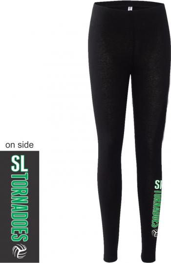 7465b62e2d9fe Bella Canvas Women's Cotton Spandex Legging 812 | Wall of Fame