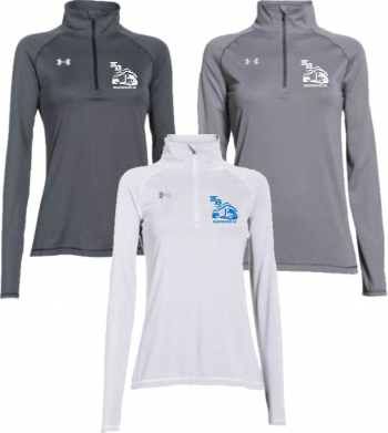 under armour 1 4 zip womens. women\u0027s stripe tech 1/4 zip - under armour 1276211 1 4 womens