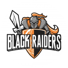 Black Raiders Basketball logo