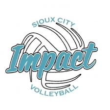 Impact Volleyball logo