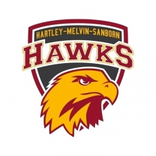 Hartley-Melvin-Sanborn High School logo