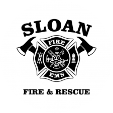 Sloan Fire Department logo