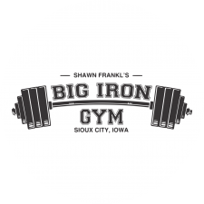 Big Iron Gym logo